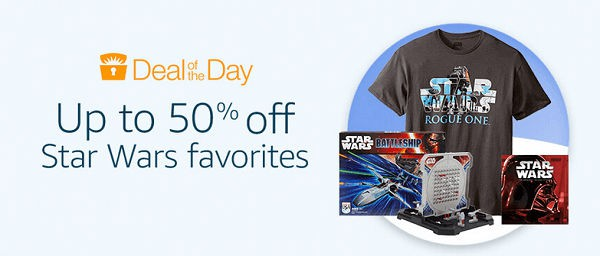 12 Days of Deals - Day 9 Star Wars