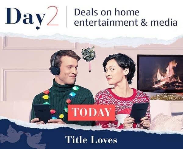 Amazon's Twelve Days of Deals
