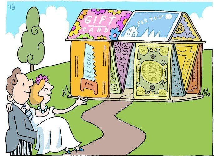 Wedding Gifts or Cash