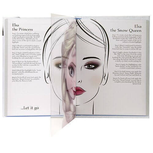 e.l.f. Disney Elsa Snow and Ice Beauty Book