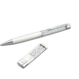 Swarovski Crystalline Usb Key and Ballpoint Pen Set