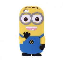 Minions Silicone Case for iPhone 6 Blue