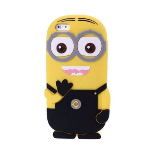 Minions Silicone Case for iPhone 6 Black