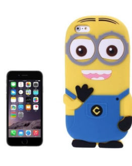 3D Minions Silicone Case for iPhone 6