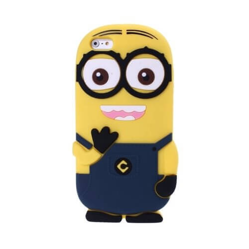 Minions Silicone Case for iPhone 6 Dark Blue