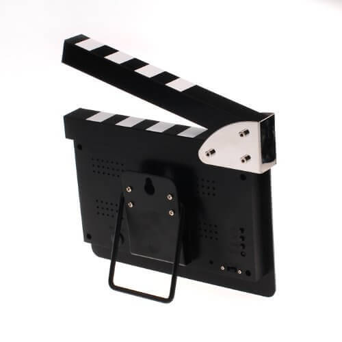 Clapperboard Directors Digital Alarm Clock