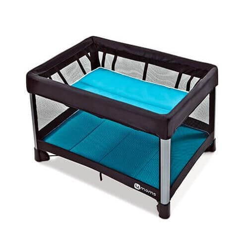 4moms Breeze Playard side