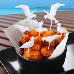 Feeding Frenzy Seagull Party Picks