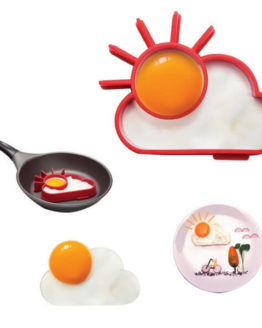 Ozera Silicone Breakfast Egg Mold Ring