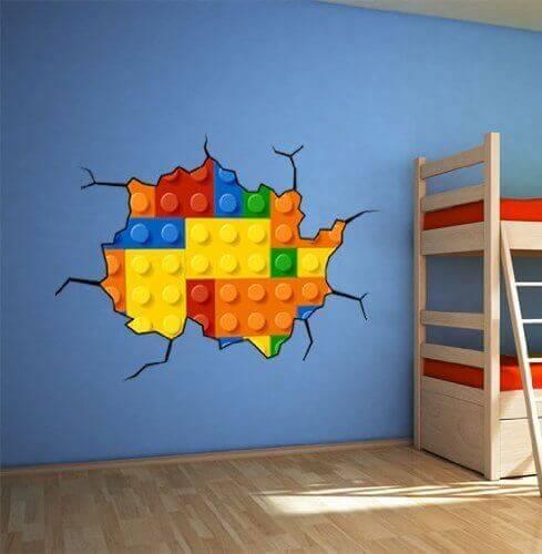 Lego Wall Decal