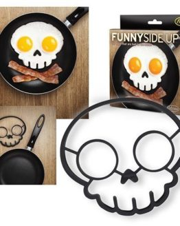 Funny Side up Egg Mould Skull