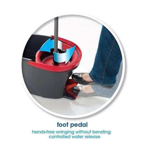 O-Cedar Easy Wring Spin Mop & Bucket