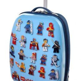 LEGO MiniFigures Hard Shell Rolling Luggage Case