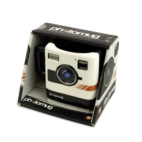 Mustard M12002 Retro Camera Shaped Mug