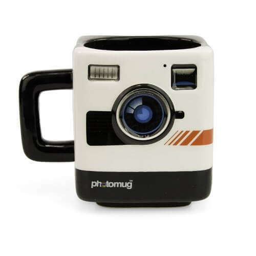 Mustard M12002 Retro Camera Shaped Mug Photomug