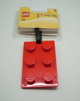 Lego Luggage Tag