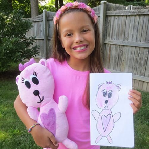 Budsies Personalized Plush Doll