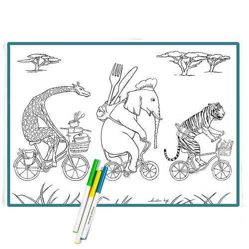 Colour-in Washable Placemat