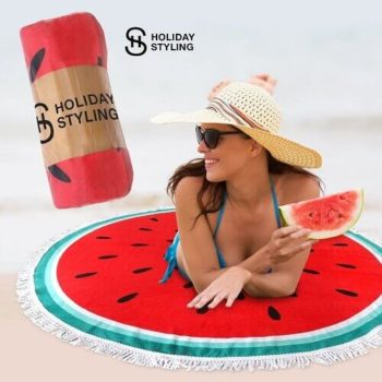 Cotton Round Beach Towel