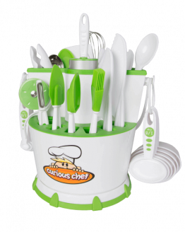 Curious Chef 30 Piece Caddy Collection