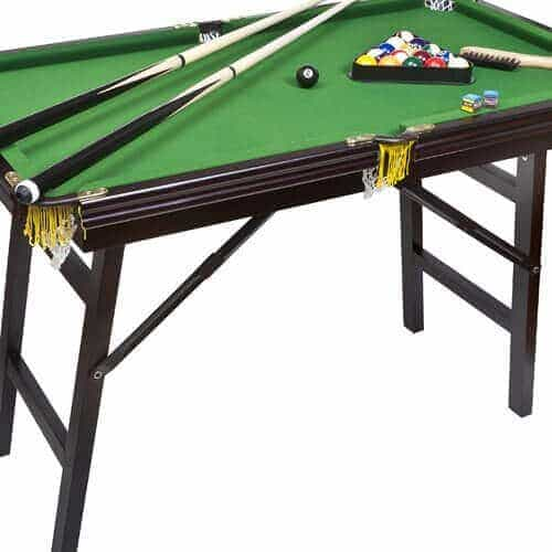 Deluxe Folding Pool Table