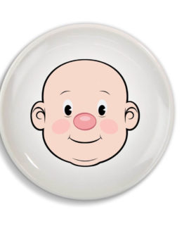FOOD FACE Kids Dinner Plate