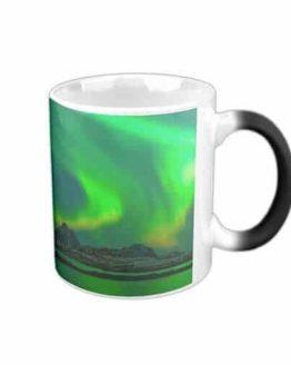 Fantastic Northern Lights Morphing Mug