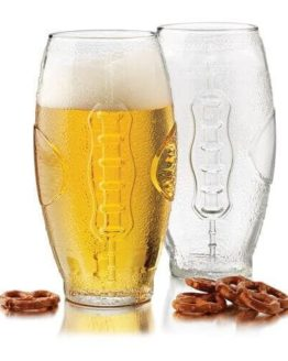 Football Tumbler Beer Glass Set