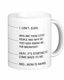 Funny Coffee Mug for Mom Classic White Mug