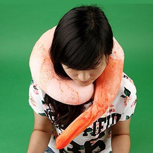 Giant Shrimp Neck Pillow