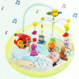 Ginzick Super Fun Kids Supermarket Playset Cot Mobile Toys