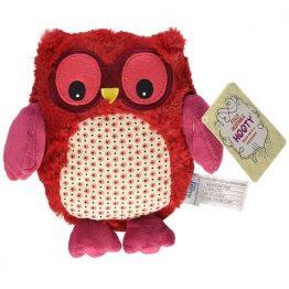 Hooty Microwaveable Plush Owl