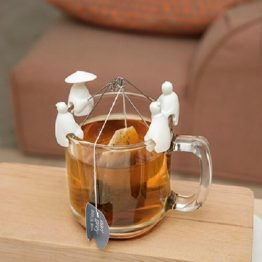 Kikkerland Jiang Taigong Tea Bag Holder