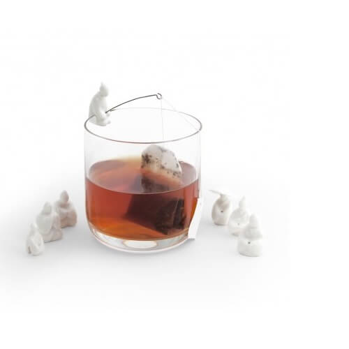 Kikkerland Jiang Taigong Tea Bag Holder