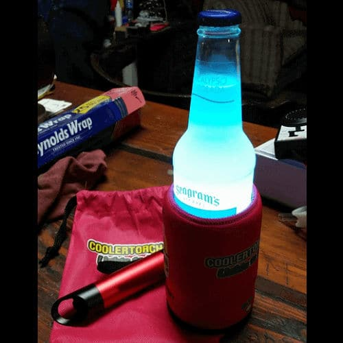 LED Flashlight Koozie
