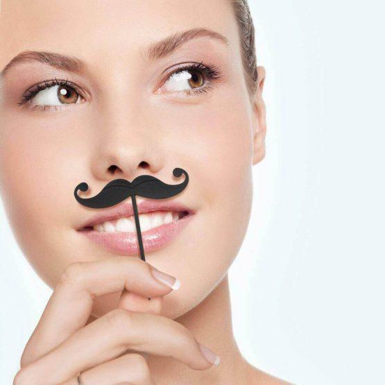 LIP SERVICE Mustache Toothpicks