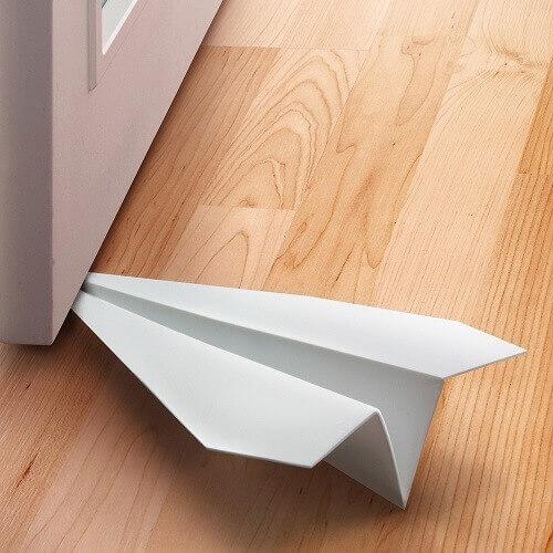 LAST STOP Paper Airplane Doorstop
