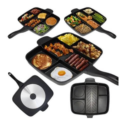 Master Pan Multi-Sectional Skillet