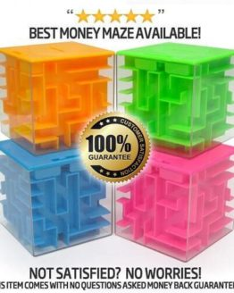 Money Maze Gift Puzzle Box