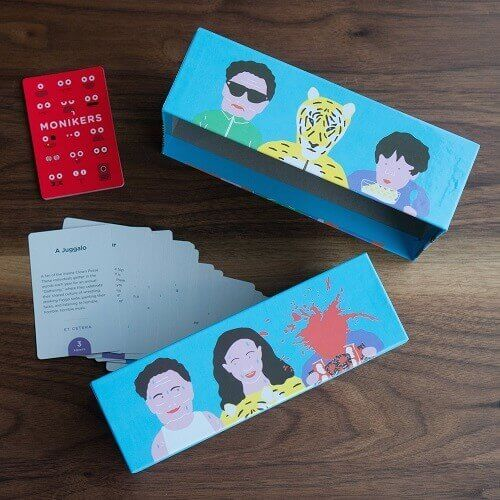 Monikers Party Game