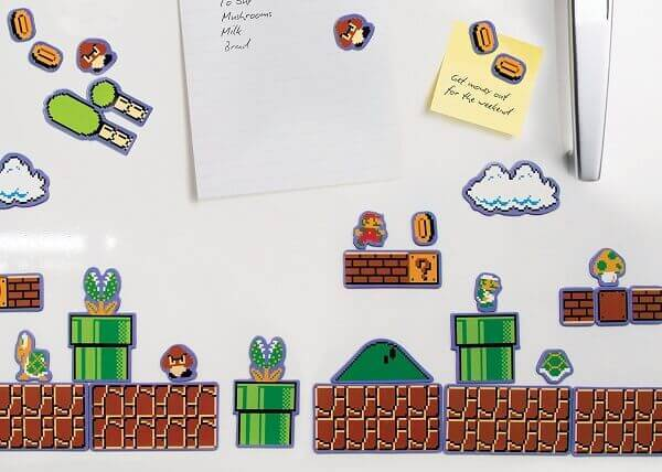 Super Mario Bros Magnets Collectors Edition