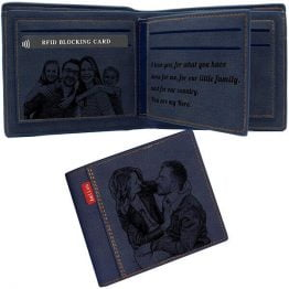 Personalized Photo RFID Wallet