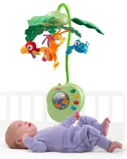 Rainforest Peek-a-Boo Cot Mobile Toys