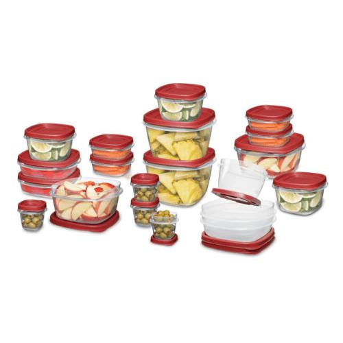 Rubbermaid Easy Find Lids Food Storage Set