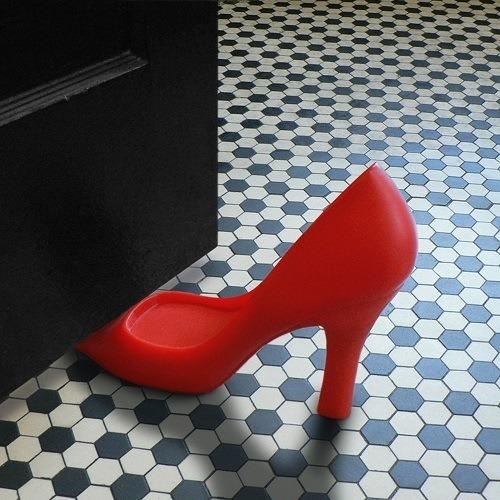 FOOT IN THE DOOR High Heel Doorstop