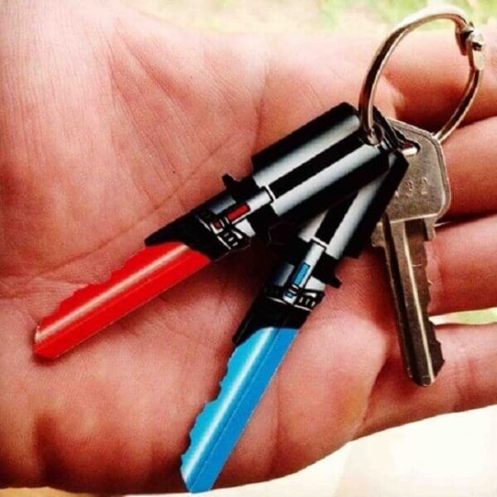 Saber Shaped Space Keys