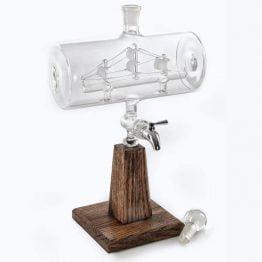 Ship In A Bottle Liquor Decanter