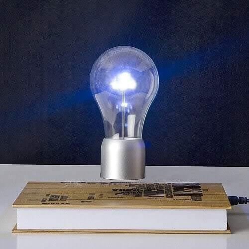 SpaceB Levitating Light Bulb Lamp