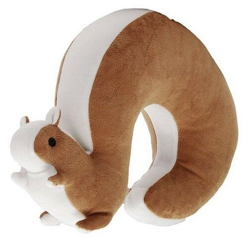 Squirrel Travel Neck Pillow