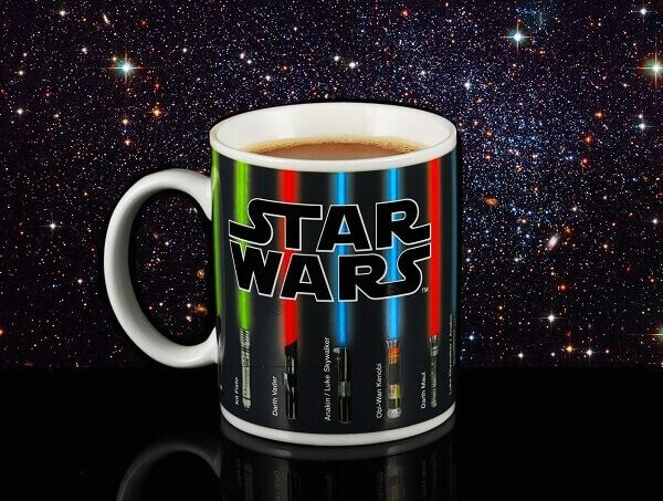 Star Wars Lightsaber Heat Chage Mug 5